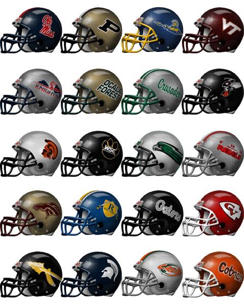 College Footballs Helmet And Targeting Rules   sicom