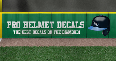 Pro Helmet Decals, the best decals on the diamond!